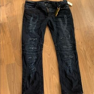 Robins Jeans NWT men's distressed jeans